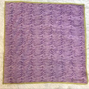 LIKE NEW Marc Jacobs Purples Zebra Cotton 🟪 Scarf